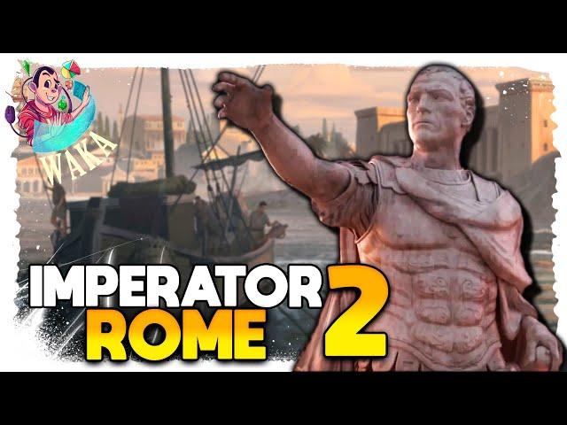 O RESGATE DIPLOMÁTICO do nosso diplomata | Imperator: Rome 2.0 #05 - Gameplay PT BR