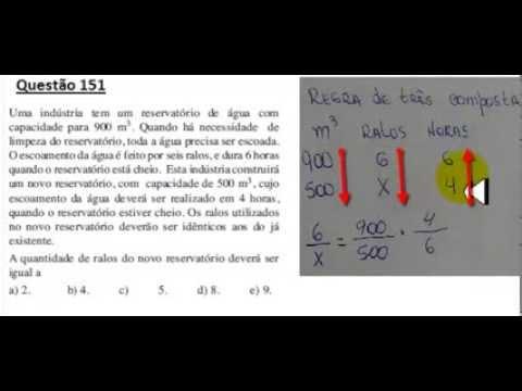 ENEM 2013/2014 QUESTÃO COMENTADA E RESOLVIDA 151  (PROVA CINZA 2° DIA)