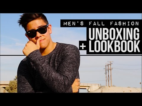 MEN'S FALL FASHION 2015  BRAND UNBOXING  LOOKBOOK  JAIRWOO