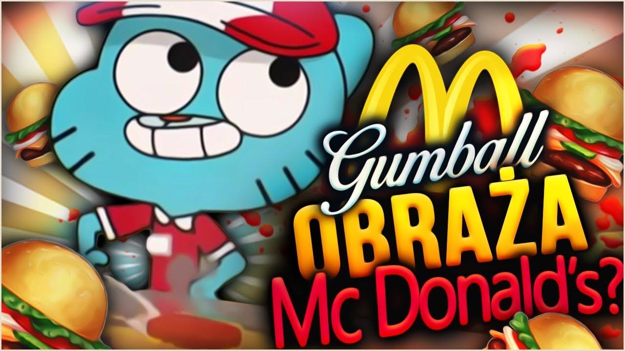 McDonald w GUMBALLU?! Gumball obraża McDonalda!