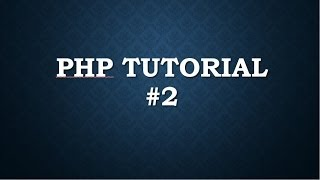 php tutorial for beginners 2 install php and wamp server