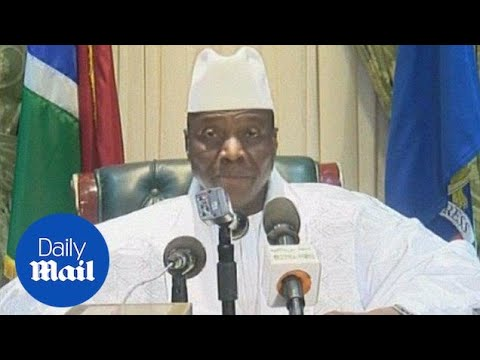 Longtime ruler Jammeh announces he is relinquishing power in Gambia - Daily Mail