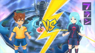 Inazuma Eleven GO Strikers 2013 STORY MODE ~ Shinsei Raimon vs Destructchers