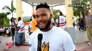 Antorcha Juegos Nacionales 2018 Recorrido Barahona Entrevista
