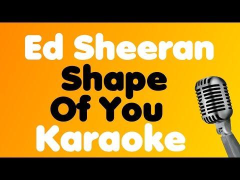 Ed Sheeran - Shape Of You - Karaoke