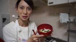 Японское блюдо - мисо суп (味噌汁)