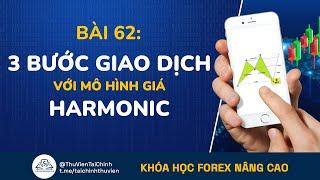 Bài 62: Ba Bước Giao Dịch Với Mô Hình Giá Harmonic | Đầu Tư Forex Nâng Cao | Học Forex Online