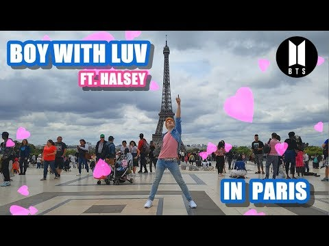 [KPOP IN PUBLIC PARIS] BTS Ft. Halsey - 'Boy With Luv' (작은 것들을 위한 시) DANCE COVER By Umutcan Tütüncü