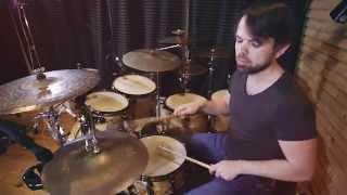 Обучение игре на барабанах. Jazz Funk