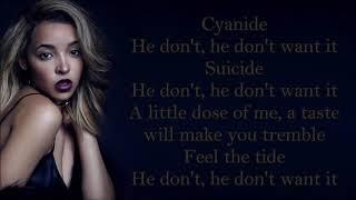 Tinashe ~ He Don't Want It ~ Lyrics