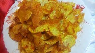 Домашние Чипсы. Как приготовить чипсы в домашних условиях