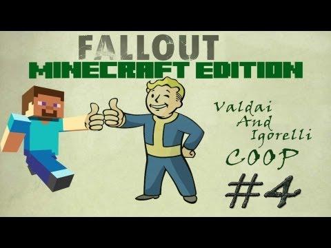 Смотреть прохождение игры [Coop] Minecraft Fallout Adventure. Серия 4 - Город шахтеров.