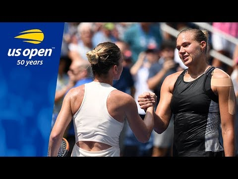 Kaia Kanepi's Historic Win Over Simona Halep - 2018 US Open