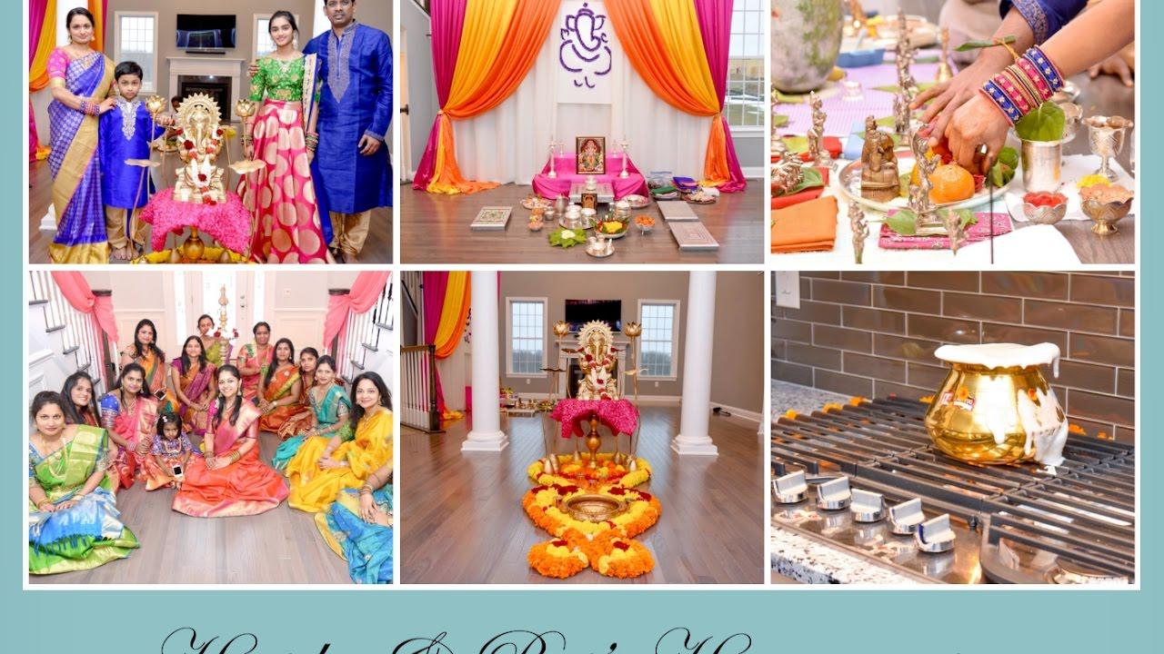 Haritha & Raj Housewarming Gruhapravesam Celebrations