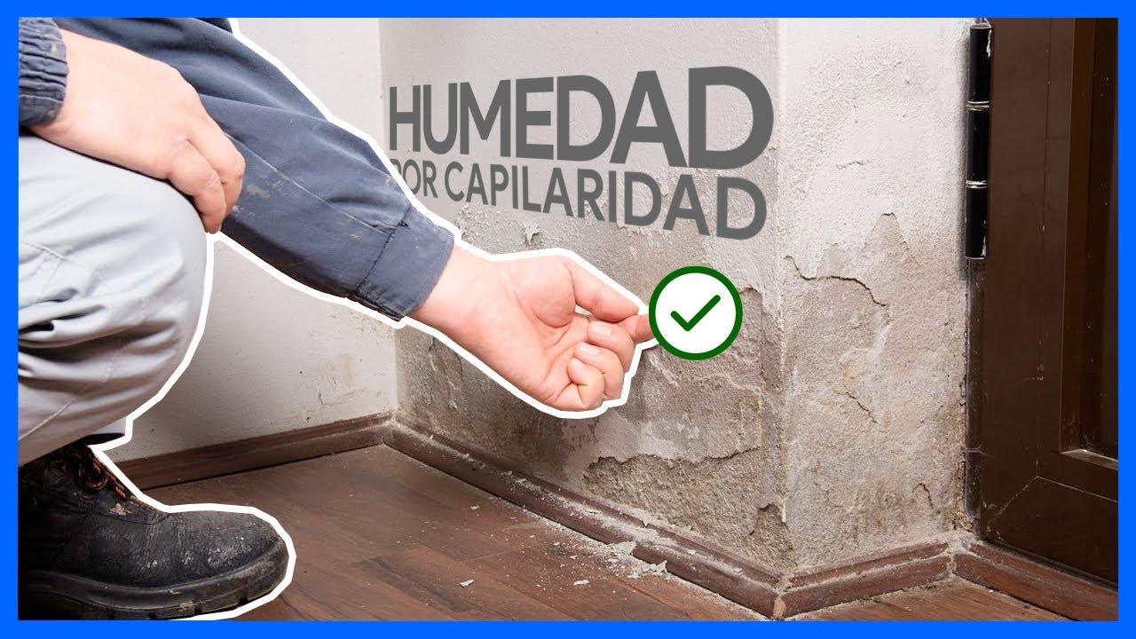 Solución definitiva y sin obras para las humedades por capilaridad