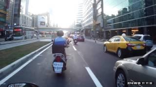 (交通記錄)南京東路往西(東興路~林森北路)