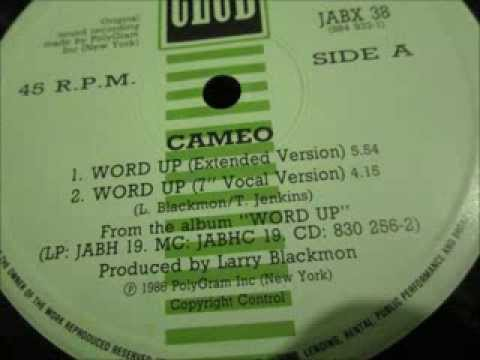 Cameo  - Word up. 1986 (12