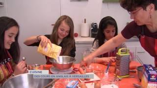 Cuisine : des cours en anglais à Versailles