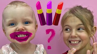 Five Kids Make Up Toys Song + more Children's Songs and Videos