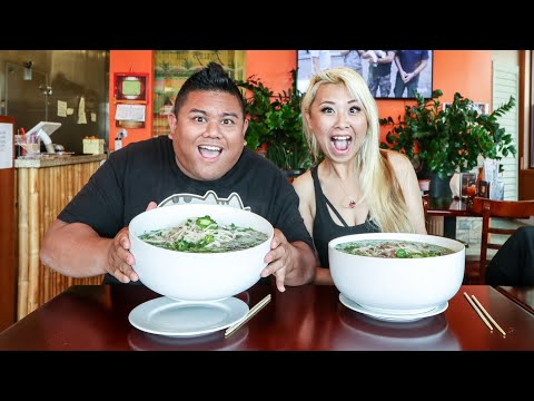 The Undefeated 10lb Pho Challenge ft. Raina Huang