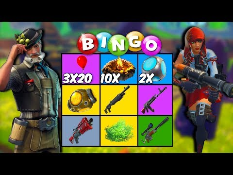BESTE BEGIN OOIT - Fortnite Bingo Ft. Ronald