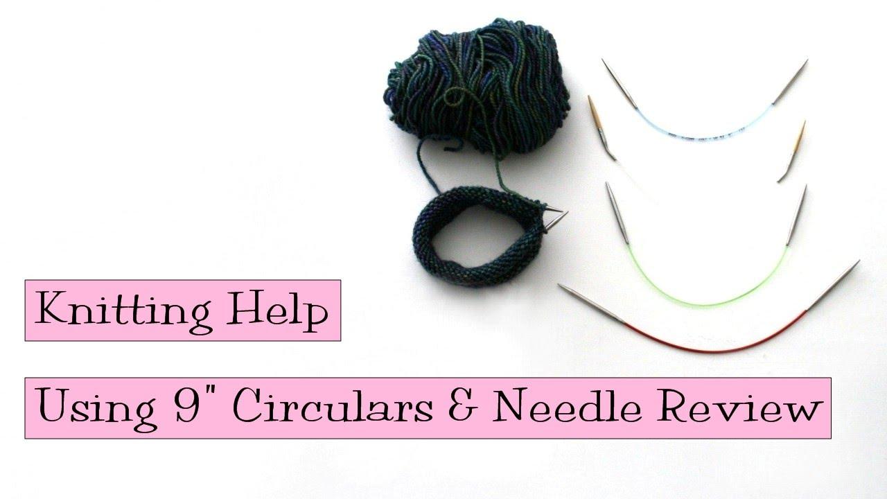 Knitting Help - Using 9\