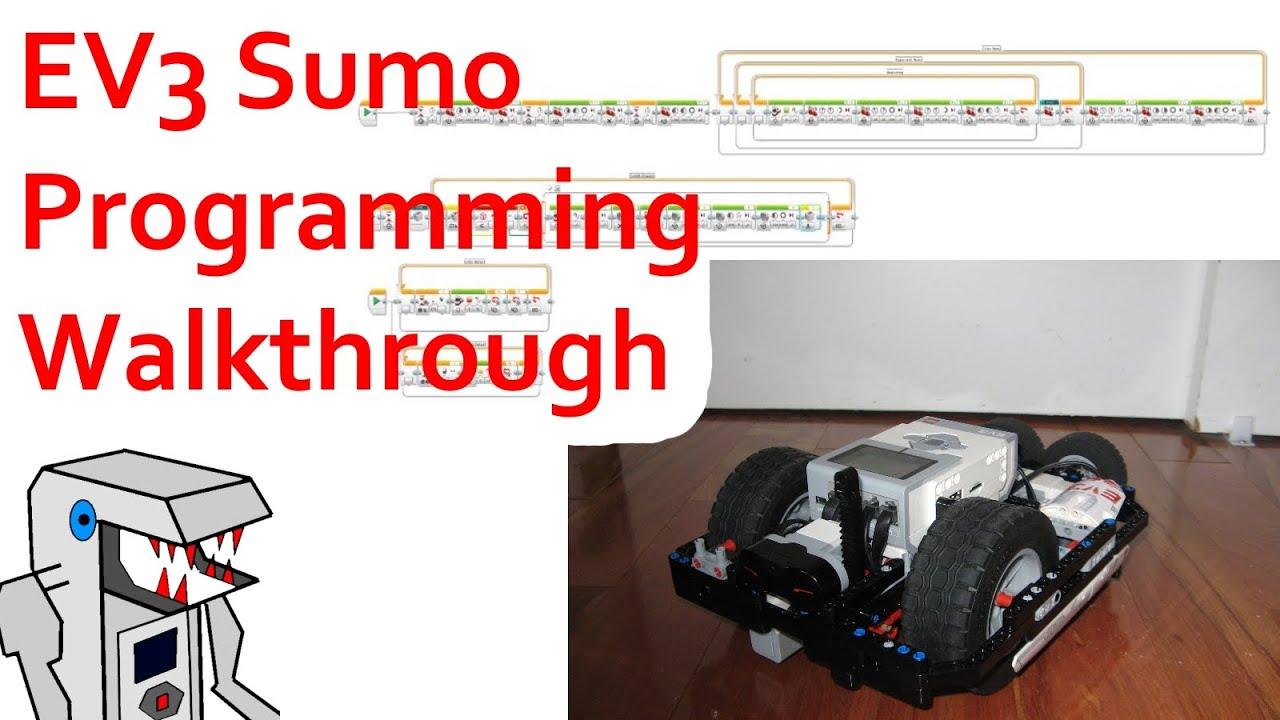 EV3 Sumo Robot Programming Walkthrough - K3MOSAB3