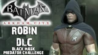 Batman: Arkham City - Robin DLC - Black Mask Map