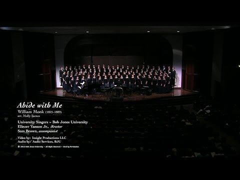 Abide with Me, arr. Molly Ijames: Bob Jones University Singers 2014-15