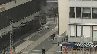 Schweden: Terrorverdacht in Stockholm – Polizei spricht von mehreren Toten