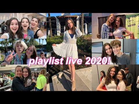 Traveling To Florida For Playlist Live 2020! Parties, Meet And Greets, And More!