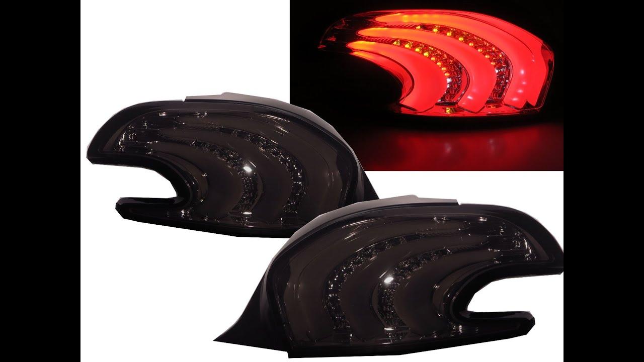 crazythegod 208 2013 present hatchback 3d 5d led tail rear. Black Bedroom Furniture Sets. Home Design Ideas