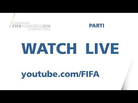 REPLAY: FIFA Extraordinary Congress 2016 - Morning Session