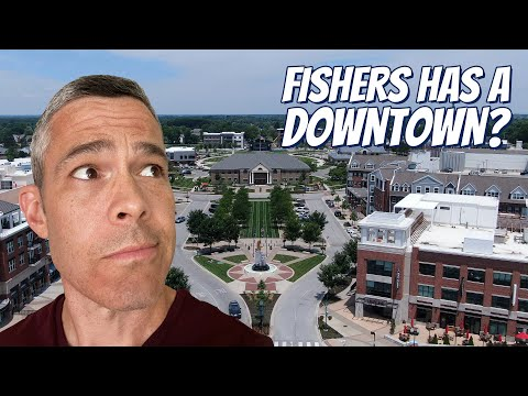 Living In Downtown Fishers Indiana | What's It Like?