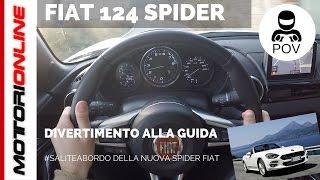 Fiat 124 Spider (2016) | POV Test Drive #SaliteaBordo