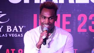 HEATED Q & A WITH MEDIA FROM JERMELL CHARLO vs TONY HARRISON