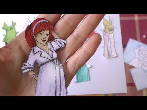 Беременная кукла из бумаги с одеждой - новые БУМАЖНЫЕ СЮРПРИЗЫ!