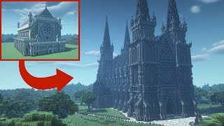 Transforming My First Minecraft Build 6 Years Later