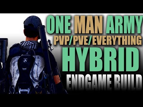 """One Man Army"" Endgame PVP/PVE HYBRID Skill DPS Build Guide - The Division 2 thumbnail"