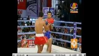 06 July 2014 - Eung Bora winner - Specail Boxing 5 - Eung Bora vs Chhay Meas - Bayon Stueng Meanchey