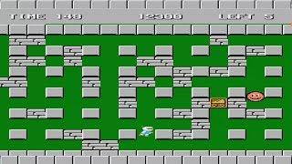 Bomberman Stage 1-5 Nintendo NES Video Game