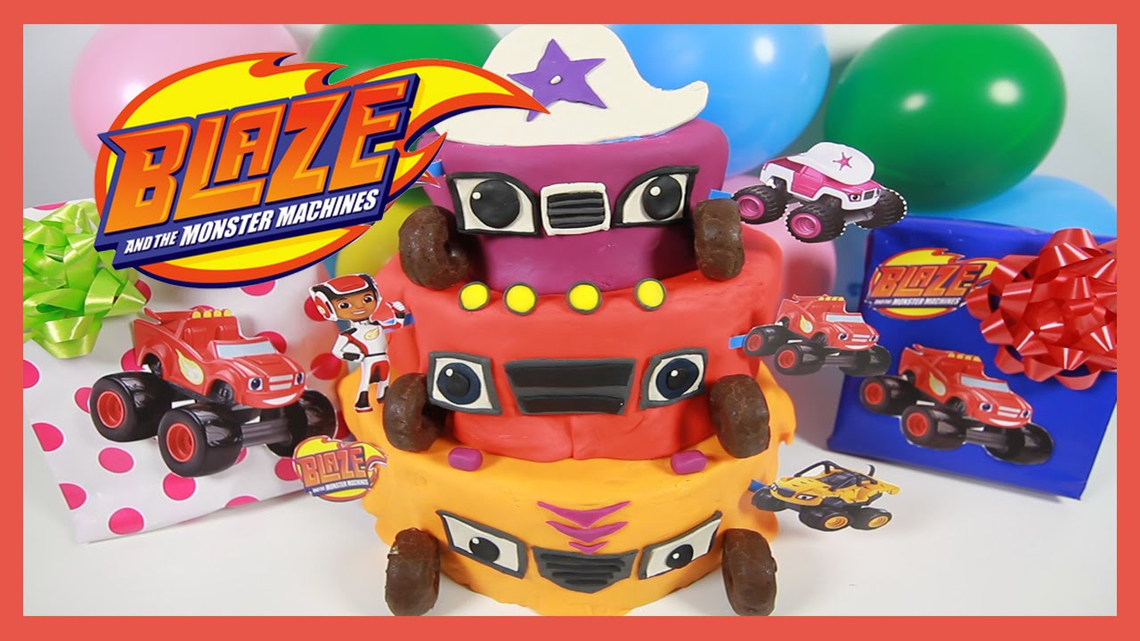 Starla From Blaze And The Monster Machines Cake