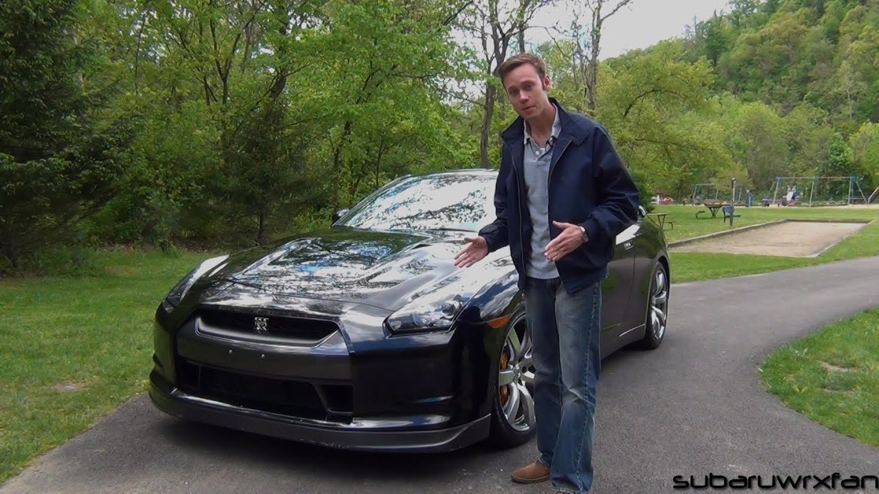 review: 2009 nissan gt-r - youtube