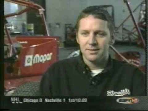2001 Jay Drake USAC Midget Crash at Terre Haute