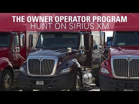 The Owner Operator Program - Hunt on SiriusXM