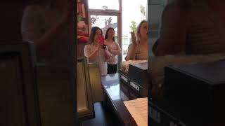Jimmy Johns Employees Confront Trashy Customers