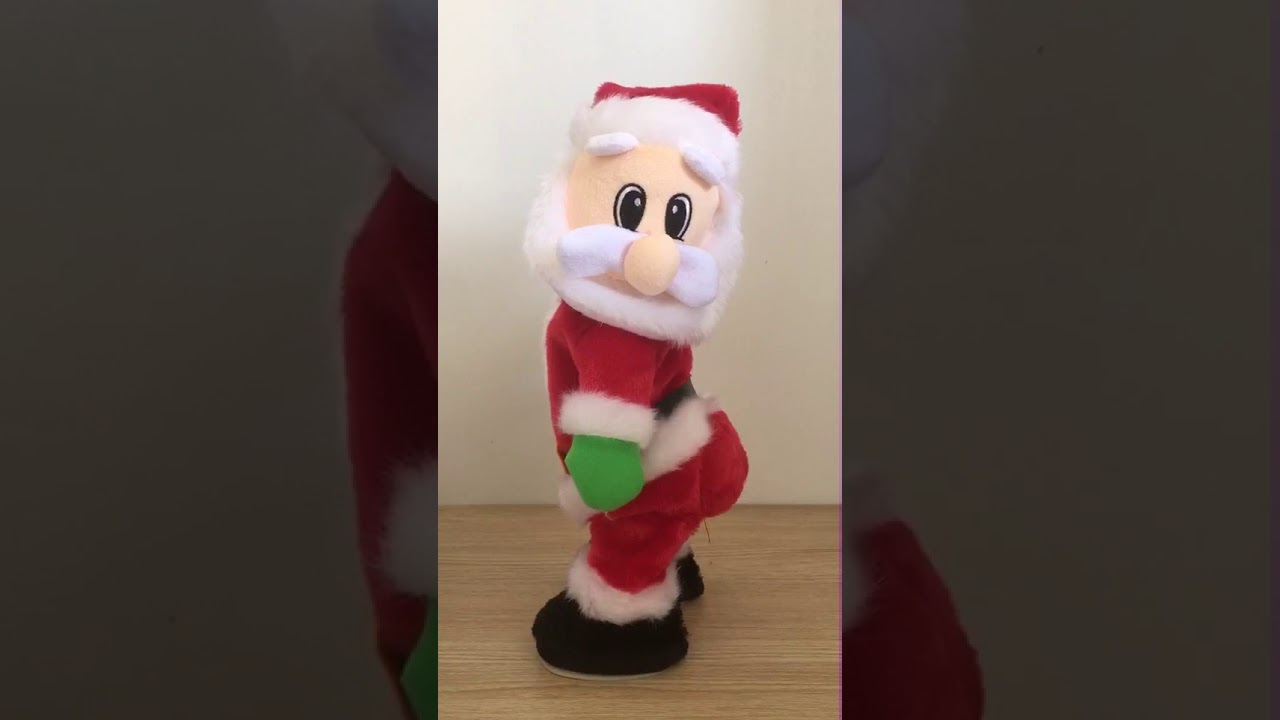Twerking Singing Santa Claus Twisted Hip Electric Toy Gift for Christmas Xmas