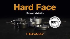 Fiskars Hard Face keitto- ja paistoastiat