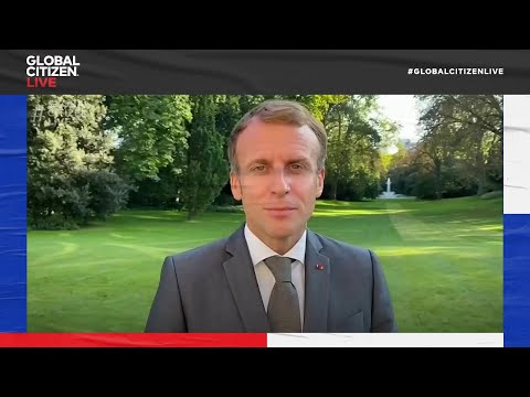 President Macron Commits to Increasing France's Contribution to Global Vaccinations | Global Citizen