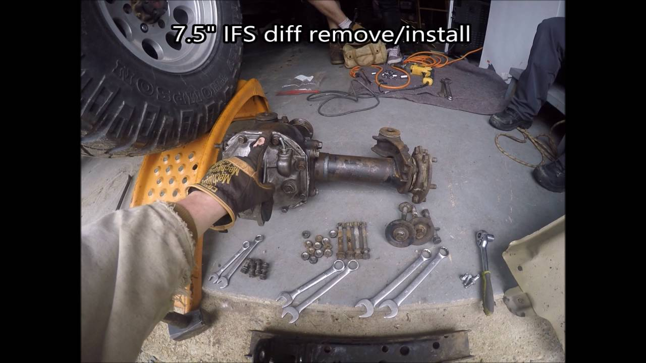 How to Remove/Install a Toyota 7 5